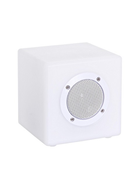 Cubo Led con Speaker + Usb+Bluetooth 20 x 20